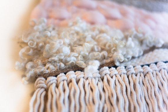 organic weaving tapestry