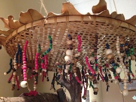 reggio emilia inspired chandelier
